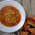 Mexican tomato corn soup