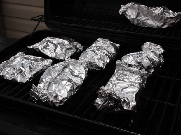 foil dinners on the grill