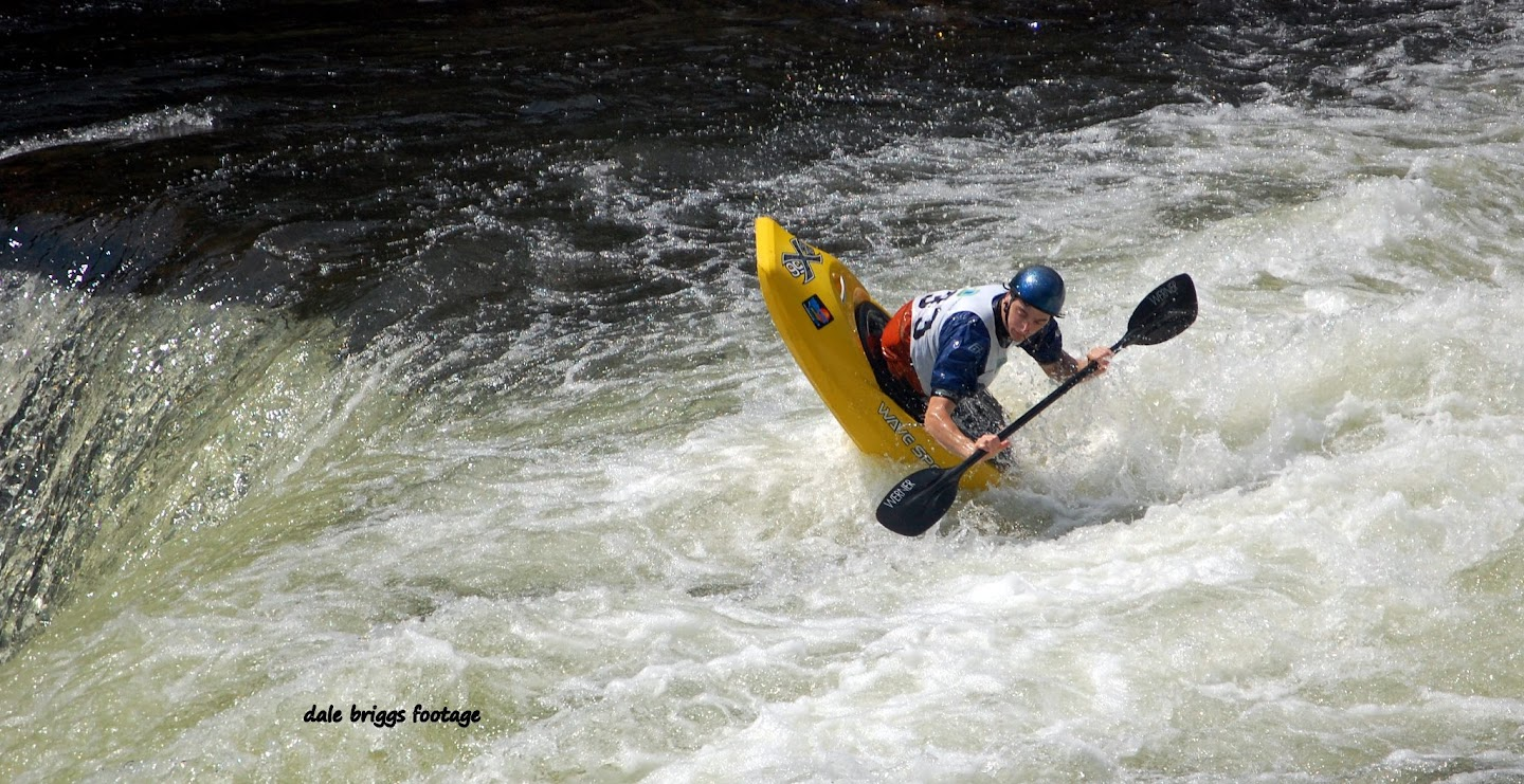 Took 2nd in both the Freestyle and Short Boat sprint at the Ohiopyle Falls race this year. Thanks to Dale for the photo.