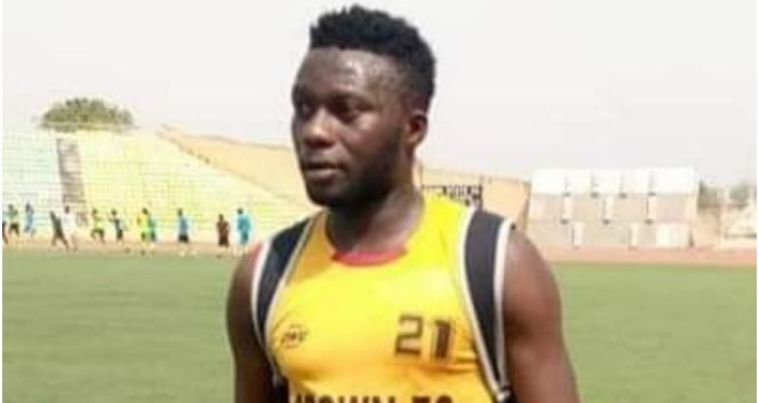 TEARS!! Nigeria in pain as a player slumps, dies instantly during friendly match - Ogun