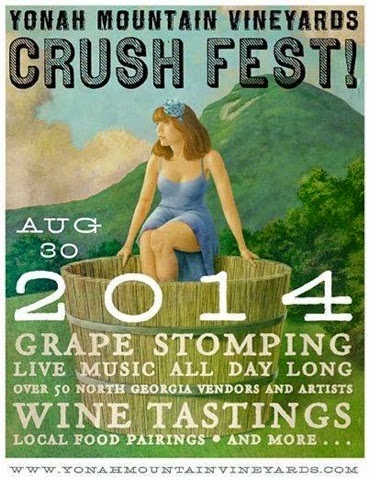 Crush Fest at Yonah Mountain Vineyards | Unicoi Preserves