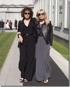 Valeria Golino ed Isabella Ferrari - sgp