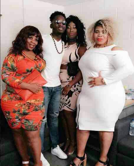 Mr Eazi Pictured With Plus Size Ladies (Photo)