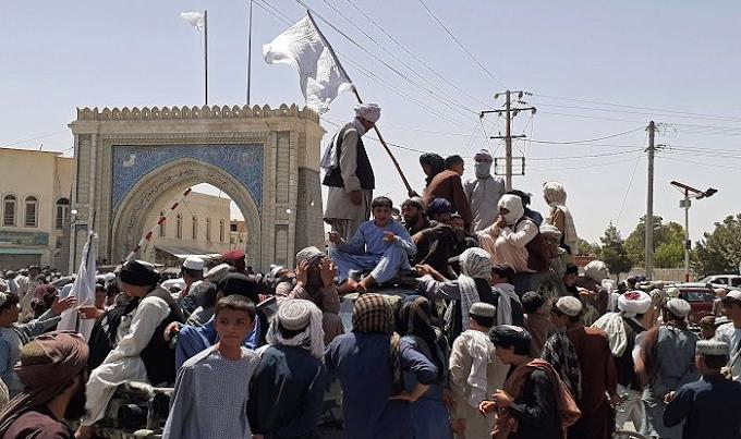 KABUL HAS FALLEN; TALIBAN BACK IN POWER