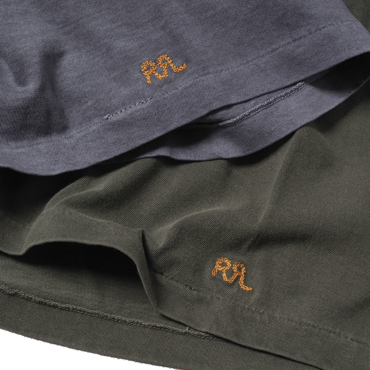 RRL / Cotton Jersey Crewneck & Pocket Tee