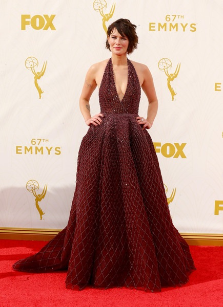 Lena Headey attends the 67th Annual Primetime Emmy Awards