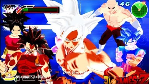 SAIU NOVO DBZ TTT + MENU EDITADO (MOD) TENKAICHI TAG TEAM PARA ANDROID E PC (PPSSPP) + DOWNLOAD 2018