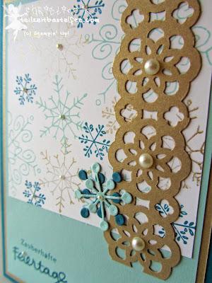 stampin up, schneeflocken, snowflakes, endless wishes, wünsche zum fest