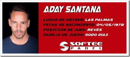 Aday Santana & Softee Padel juntos para las tres próximas temporadas.