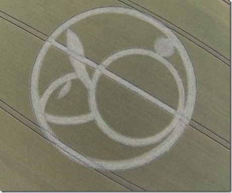 Alton Barnes, Wiltshire crop circle