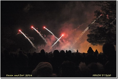 Eastern Green Fireworks Display - November