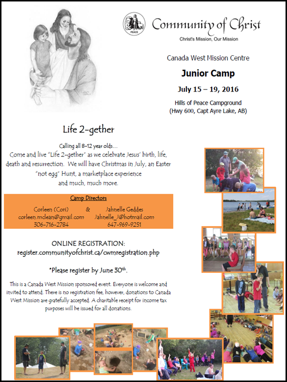 Junior camp 2016