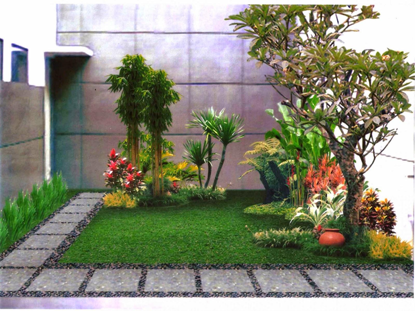 gambar model taman gallery taman minimalis
