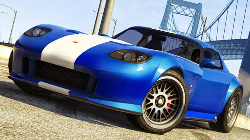 2013 GTA V Bravado Banshee from Grand Theft Auto V Game