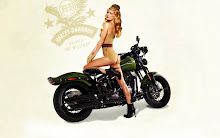 blondes women motorbike vintage pinup harley davidson army girls 1920x1200 wallpaper