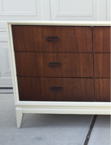 Shabby Redo For You Mid Century Tv Console Or Credenza