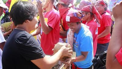 Farmers welcome Manilakbayan