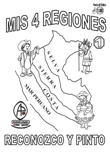 Las regiones del Perú para niños