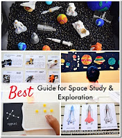 Guide to Space and Heavenly Bodies Study for Kids (with FREE Resources)