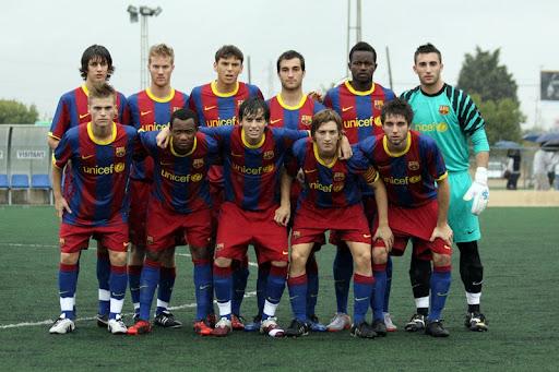 barcelona fc 2011 team photo. FC Barcelona juvenil A 2011