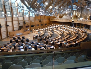 Photo: La salle du parlement