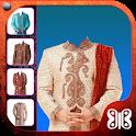 Man Sherwani Suit Camera icon