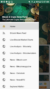 Bitcoin and Cryptocurrency News Portal - náhled