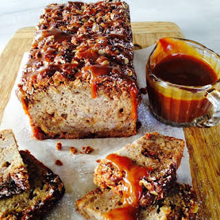 Banoffee Loaf with Anzac Crumble.