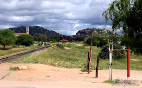 Main road in Dodoma
