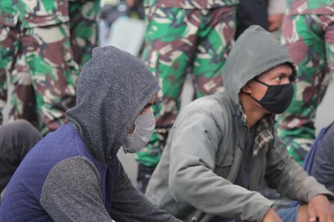 Jakarta, Aksi Peringati Trikora 19 Desember 1961 Akhiri Direpresif Oleh Gabungan TNI-POLRI Dan Ormas