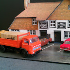 Leyland Terrier made up lorry in the style that a lot of builders used in the 80s. Parts Used... LEY9 cab