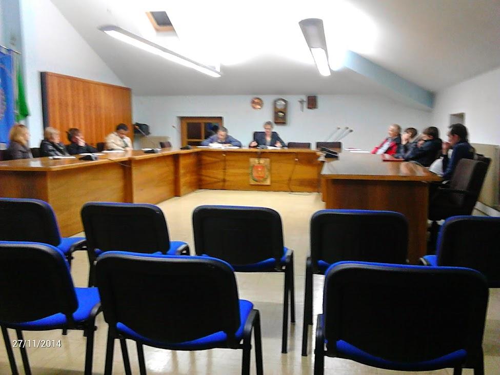 Consiglio comunale Canal San Bovo 17 novembre 2014