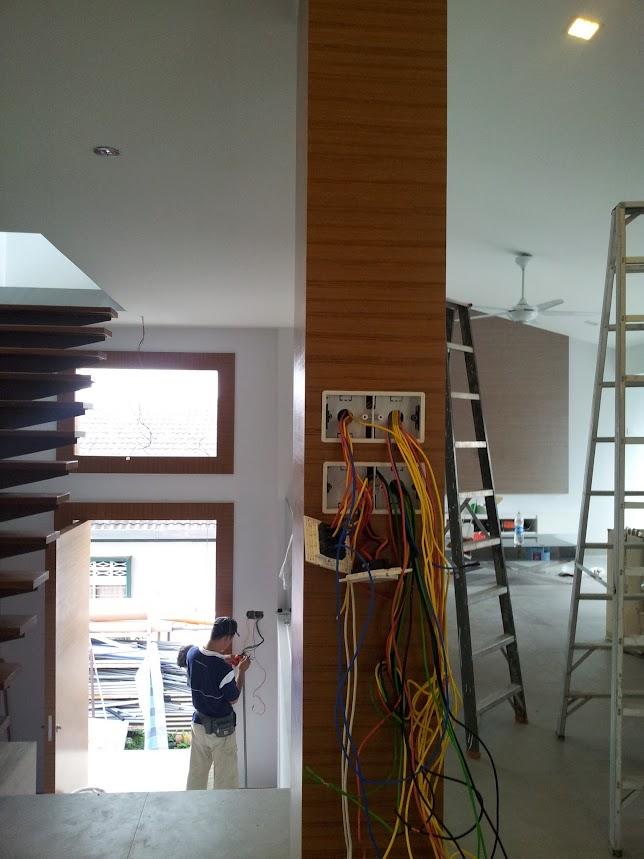 installing wiring