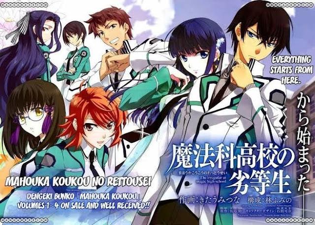 So Sad, Manga Spinoff Dari Mahouka Koukou no Rettousei akan Tamat!