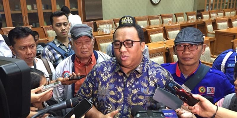 Presiden KSPSI Andi Gani Merapat Ke Istana Saat Ramai Reshuffle, Ditawari Menteri?