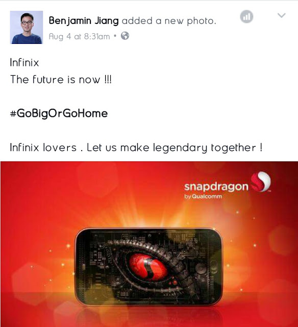 Infinix To Start Manufacturing Devices On Snapdragon Processors 2
