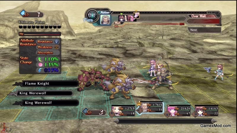 Agarest Generations Of War 2 - Game Screenshot