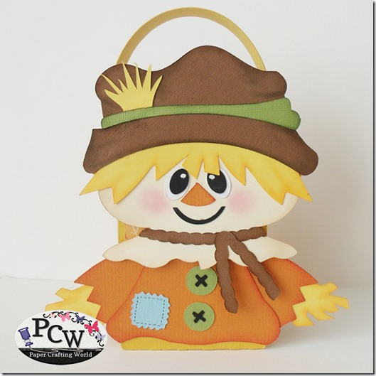 SVG Scarecrow Treat Box