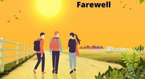 Speech on Farewell in Hindi