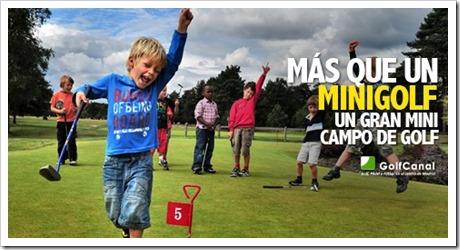 Mini Golf para todos en GolfCanal. Pádel, Fútbol y Golf en pleno centro de Madrid.