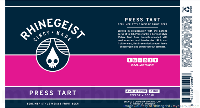Rhinegeist & 16-Bit Collaborate On Press Tart