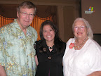 Bob Jones, Jaclyn Overby and Sharon Davis-Jones