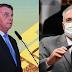 """Bolsonaro ironiza relatório de Renan na CPI da Covid: """"Bandido é elogio para ele"""""""