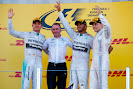Top 3 finishers: 1. Hamilton 2. Rosberg 3. Bottas