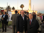 Ramón de Isequilla y el Primer Ministro de Turismo del Uruguay José Villar Gómez