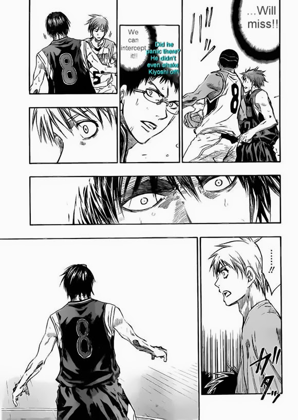 Kuroko no Basket Manga Chapter 238 - Image 15