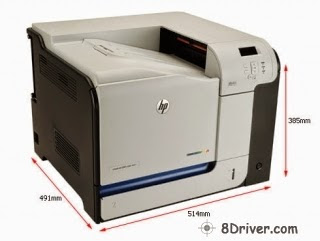 get driver HP 500 Color M551 Printer