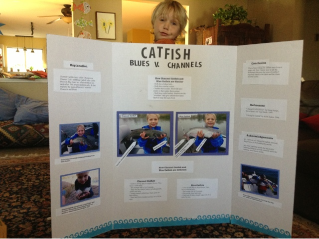 The fishing blog for Fishing science fair projects