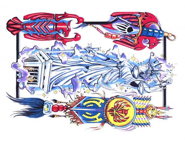 Silent Tattoo Design 7, Fantasy Tattoo Designs