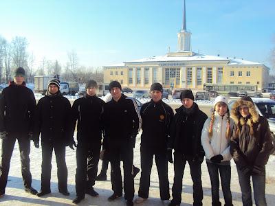 23-го февраля по всей России прошли акции здоровой молодёжи - Сыктывкар